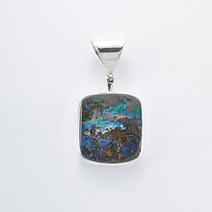 Anhänger Silber mit Opal