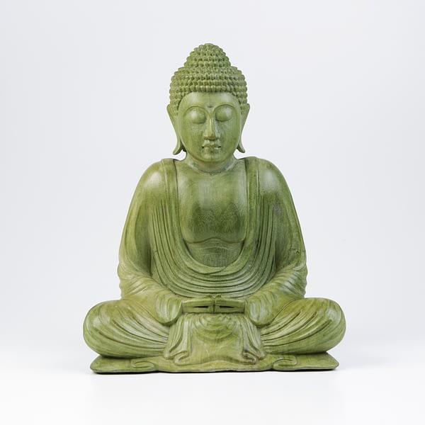 Buddha Hibiskusholz
