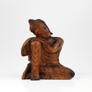 Buddha Soar-Holz, braun