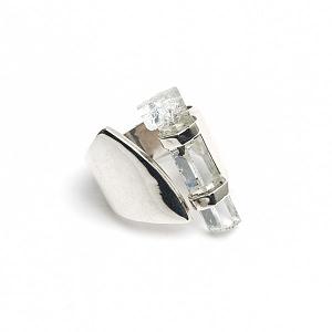 Ring Silber mit Aquamarin