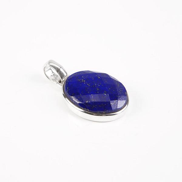 Anhänger Silber mit Lapis Lazuli