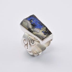 Ring Silber mit Opal