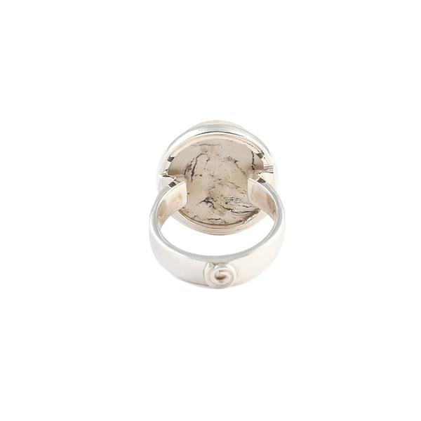 Ring Silber mit Feueropal